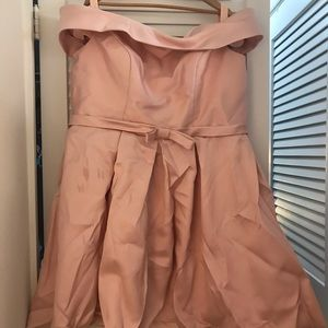 Dresses & Skirts - Baby pink and Baby blue off-shoulder dress